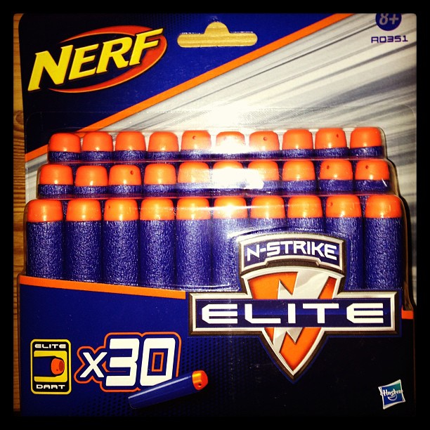Nerf bullets have arrived - now what to shoot